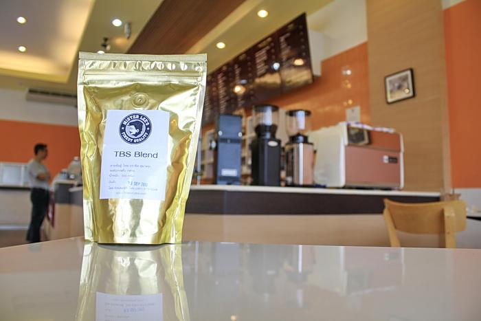 กาแฟคั่ว TBS Blend