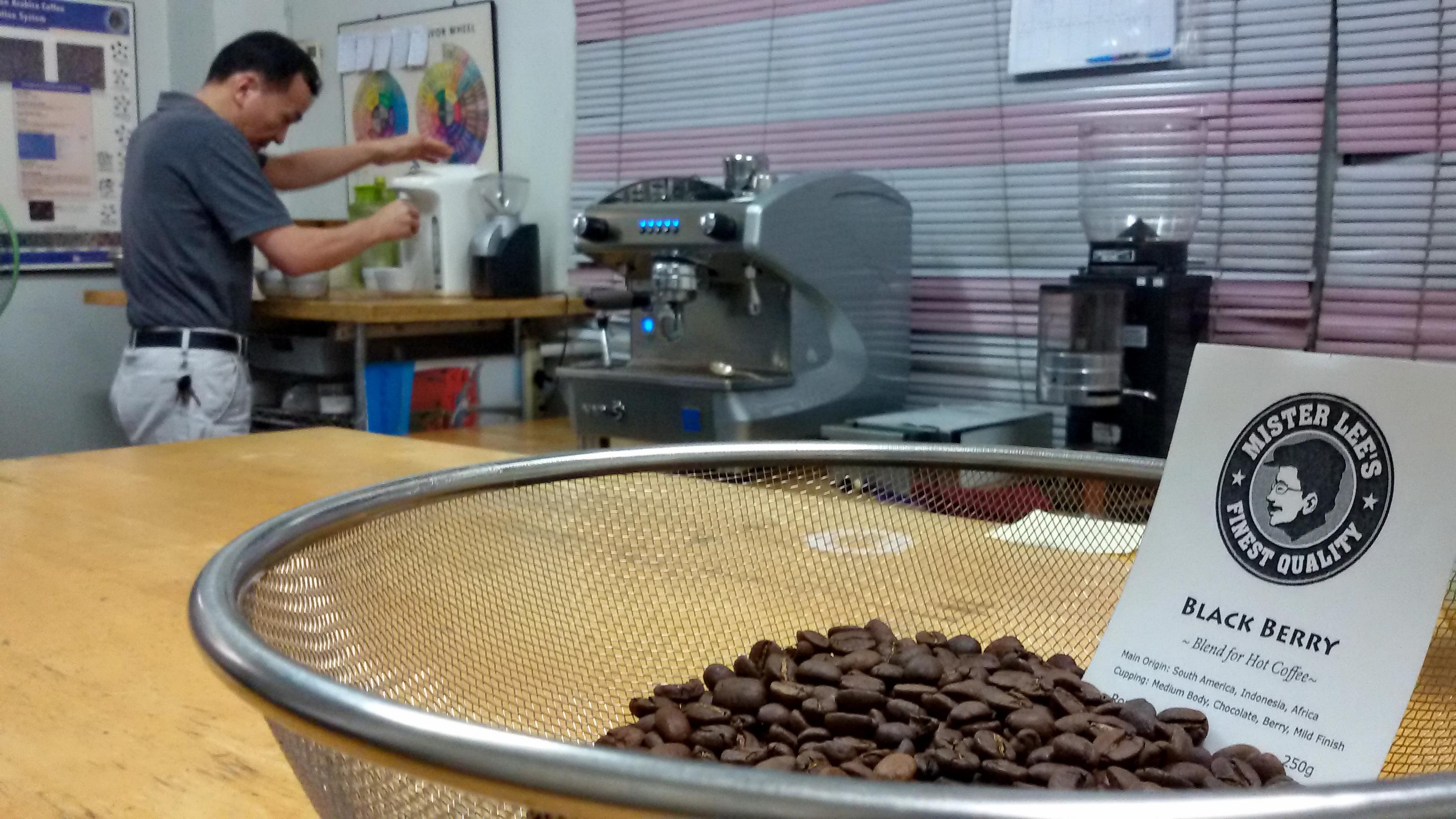 ชิมกาแฟ BLACK BERRY