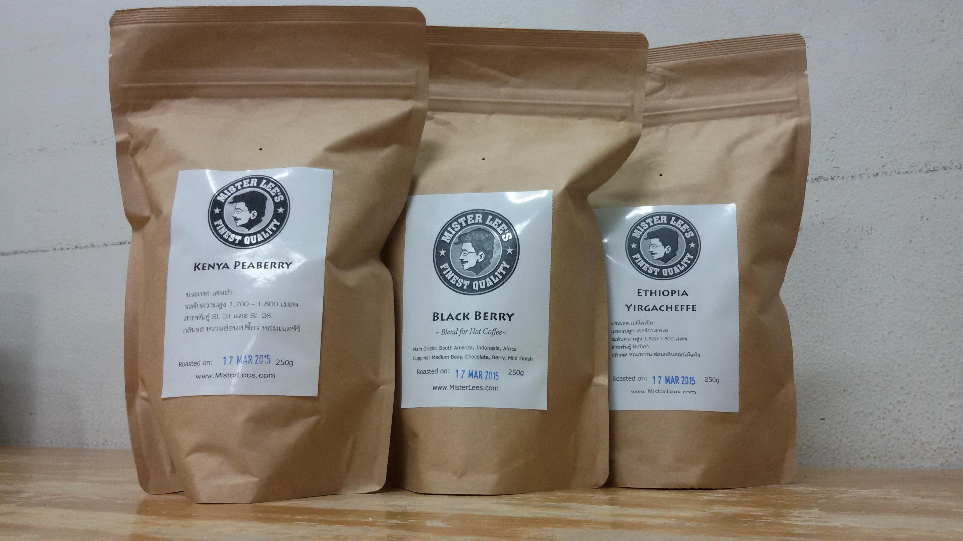กาแฟคั่ว เคนย่า, เอธิโอเปีย,ฺBLACK BERRY