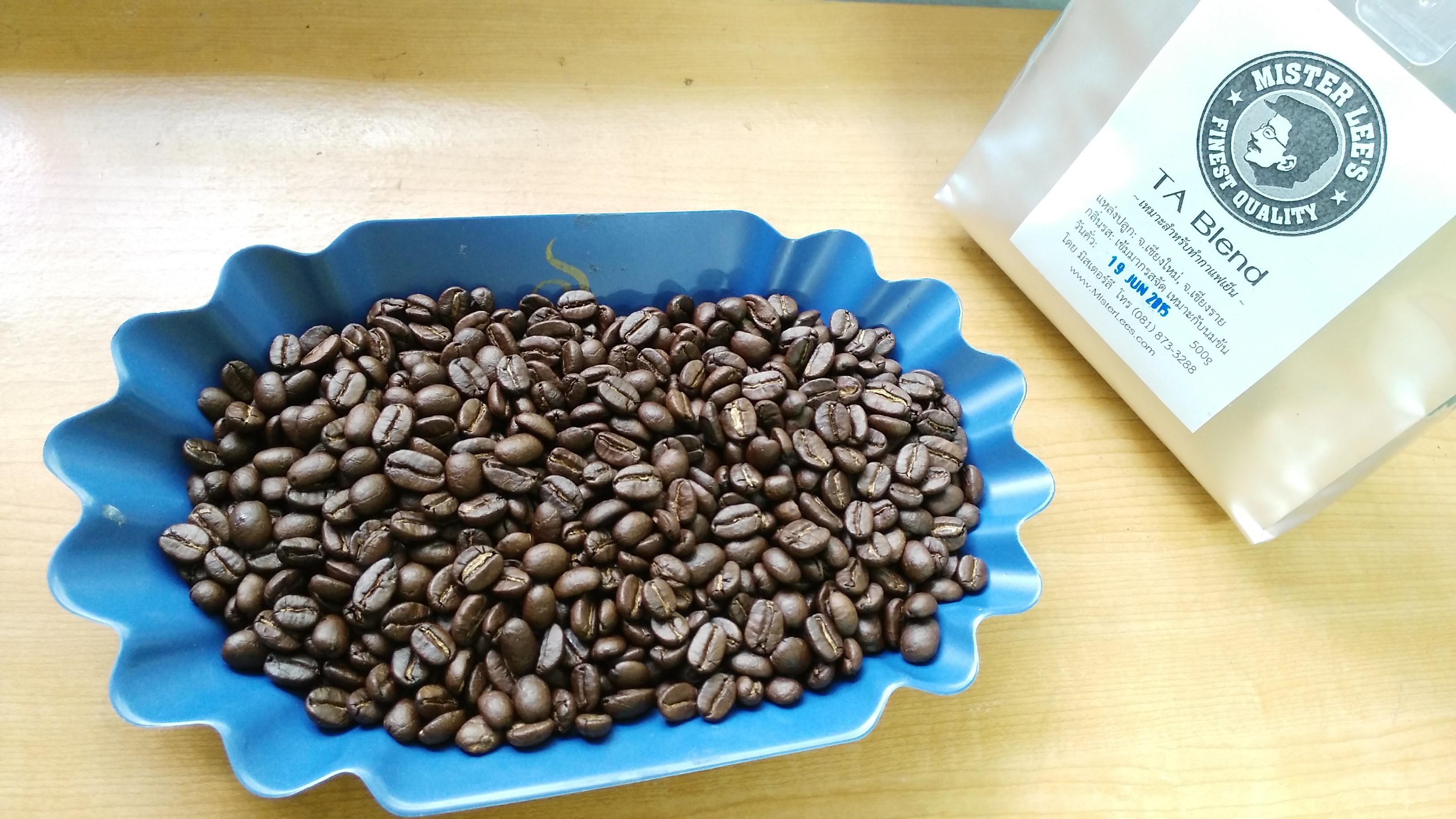 เมล็ดกาแฟคั่ว TA Blend