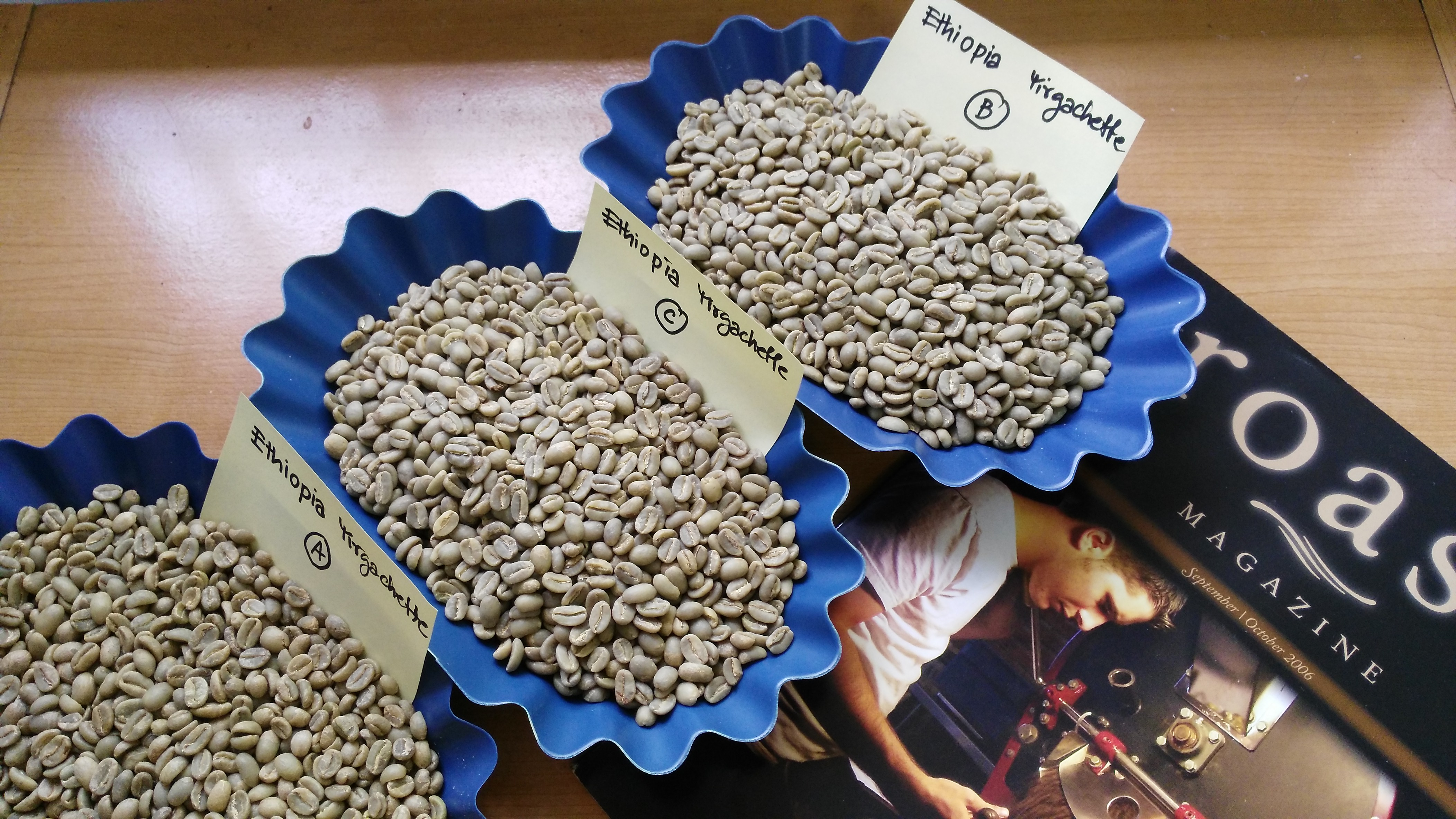 กาแฟเอธิโอเปีย ( Ethiopia Yirgacheffe )