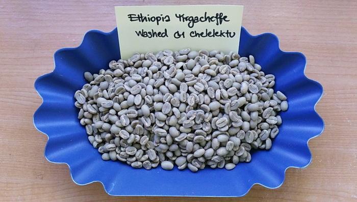 กาแฟเอธิโอเปีย เยอกาเชฟ ( Ethiopia Yirgacheffee Chelelektu )