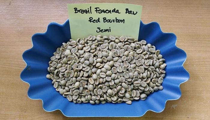 กาแฟบราซิล ( Brazil Fazenda Bau Red Bourbon Semi )