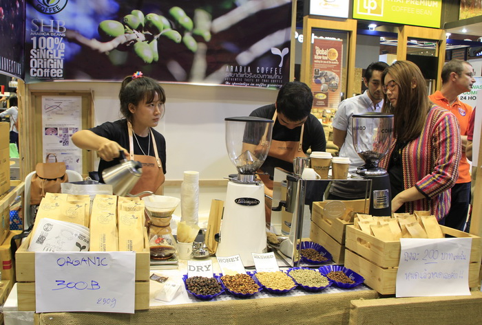 งานกาแฟ Thailand Coffee Fest 2016