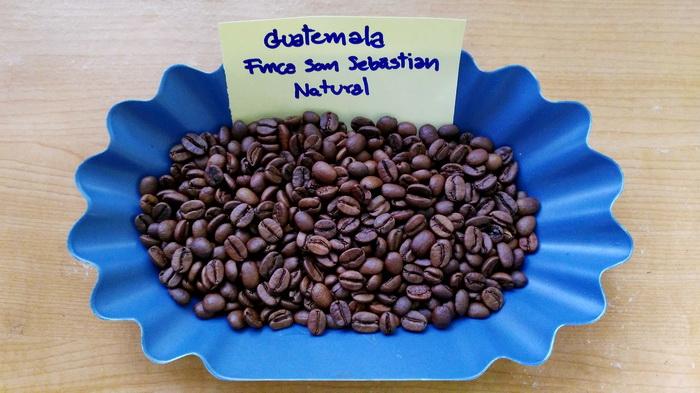 กาแฟกัวเตมาลา ( Guatemala Finca San Sebastian Natural Natural )
