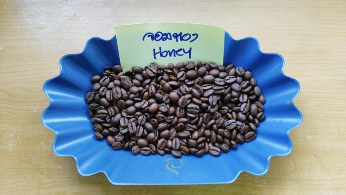 กาแฟฮันนี่โพเสส จอมทอง ( Honey Process )