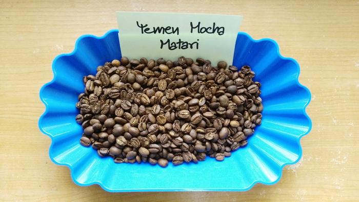 กาแฟ มอคค่า เยเมน ( Yemen Mocha )